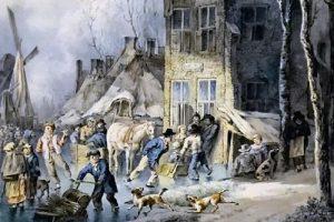 Historische Vereniging Moordrecht: aquarel Cornelis Borsteegh