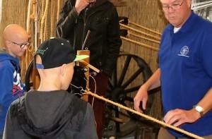 Historische Vereniging Moordrecht - educatie - touwbaan