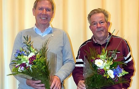 Historische Vereniging Moordrecht: Johan Verboom en Panc Vink benoemd tot erelid.