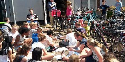 Historische Vereniging Moordrecht - educatie: speciale lessen en rondleidingen voor leerlingen van basisscholen