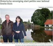 Historische Vereniging Moordrecht Petitie behoud Snelle Sluis 11