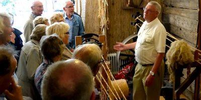 Moerdregt - juli 2016 - Golderake bezoekt KVT-expositie en touwbaan- Bert Bouthoorn