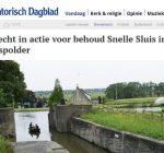 Actie 'Snelle Sluis' krijgt wellicht steun van UNESCO