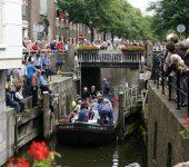 Gouds Watergilde roept op tot behoud van Snelle Sluis bij Moordrecht.