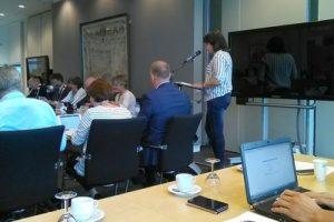 Actie behoud Snelle Sluis vergadering hoogheemraadschap A