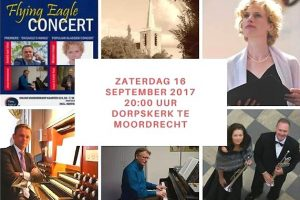 Flying Eagle Concert in Dorpskerk te Moordrecht