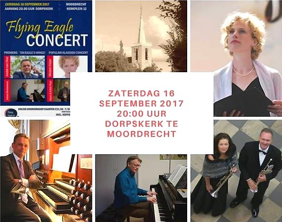 Flying Eagle Concert in Dorpskerk te Moordrecht.