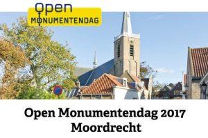 Moordrecht - Open Monumentendag 2017 - aankondiging