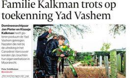 Familie Kalkman bezoekt Moordrecht