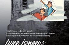 Historische Vereniging Moordrecht - Moerdregt april 2019 - toneelstuk Twee jongens onder een luik