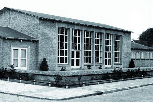 De gymzaal aan de Burgemeester Brandstraat in Moordrecht.
