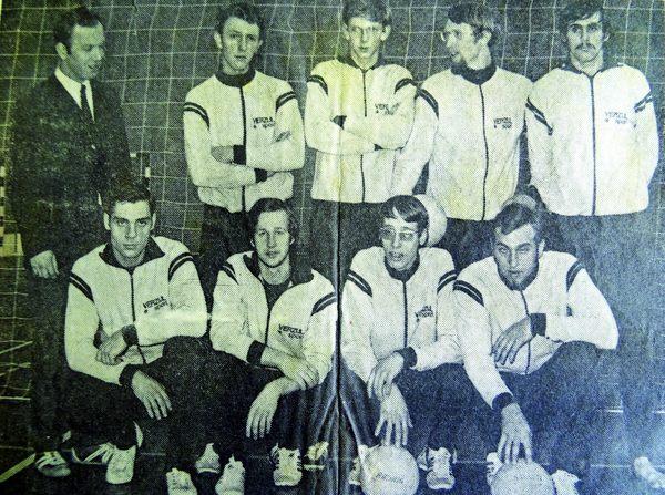 Moordrechtse Volleybal Club: Radius/MVC in de beginjaren '70.
