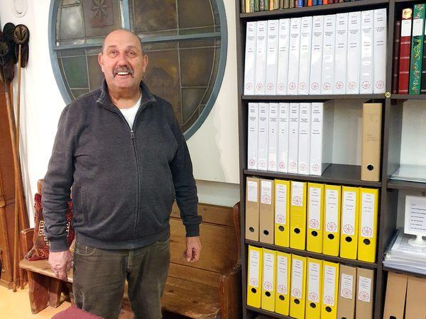 Historische Vereniging Moordrecht: Jaap Waasdorp maakte podcast met oud-Indiëganger Cees van Gameren.