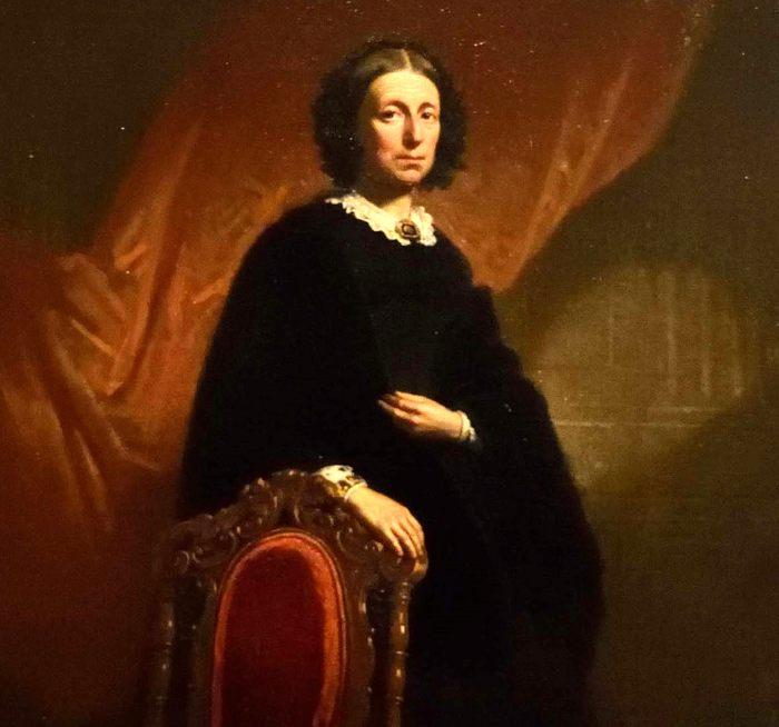 19e eeuws portret van Maria Drost-IJserman.