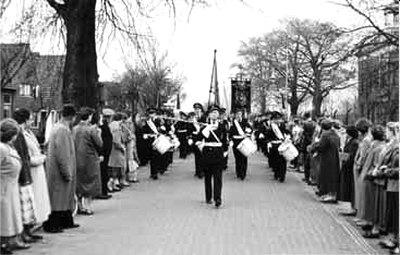 Moerdregt - Jubileum 100 jaar Harmonie Kunst na den Arbeid in Moordrecht.